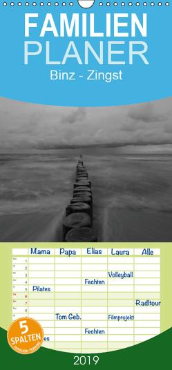 Binz – Zingst 2019 – Familienplaner hoch (Wandkalender 2019 , 21 cm x 45 cm, hoch) von Schulz,  Jörn