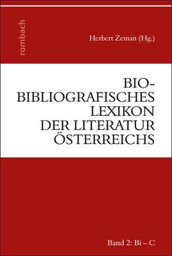 Bio-bibliografisches Lexikon der Literatur Österreichs von Zeman,  Herbert