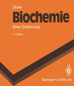 Biochemie von Bieger-Dose,  Angelika, Dose,  Klaus