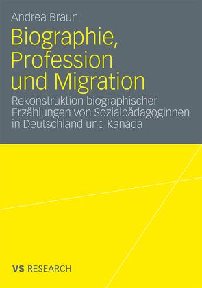 Biographie, Profession und Migration von Braun,  Andrea