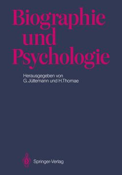 Biographie und Psychologie von Jüttemann,  Gerd, Thomae,  Hans