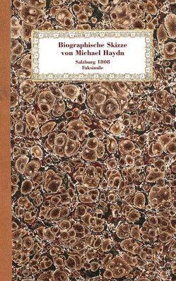 Biographische Skizze von Michael Haydn von Haydn,  Johann Michael, Otter,  Joseph