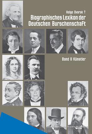 Biographisches Lexikon der Deutschen Burschenschaften / Künstler von Dvorak,  Helge, Kaupp,  Peter