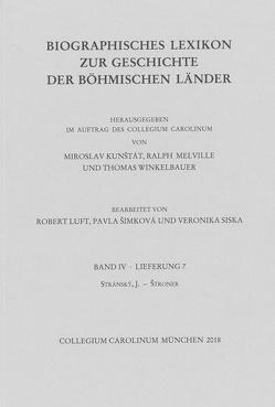Biographisches Lexikon zur Geschichte der böhmischen Länder. Band IV, Lieferung 7. von Kunštát,  Miroslav, Melville,  Ralph, Winkelbauer,  Thomas