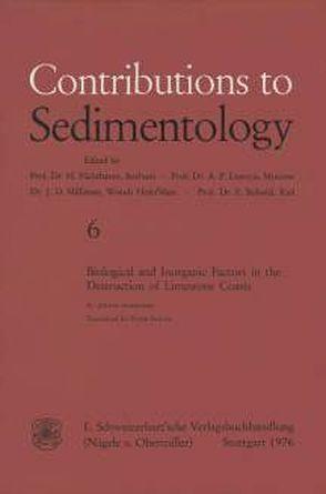 Biological and Inorganic Factors in the Destruction of Limestone Coasts von Schneider,  J.