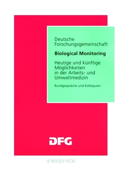 Biological Monitoring von Angerer,  Jürgen