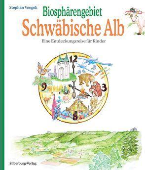 Biosphärengebiet Schwäbische Alb von Mit Jura dem Albschaf, Voegeli,  Stephan
