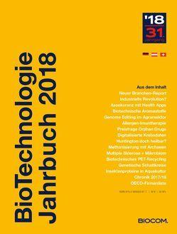 BioTechnologie Jahrbuch 2018 von Mietzsch,  Andreas