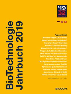 BioTechnologie Jahrbuch 2019 von Mietzsch,  Andreas