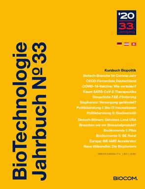 BioTechnologie Jahrbuch 2020 von Mietzsch,  Andreas