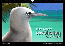 Bird Island Seychellen – die Vögel (Wandkalender 2019 DIN A3 quer) von Höcker,  Frank