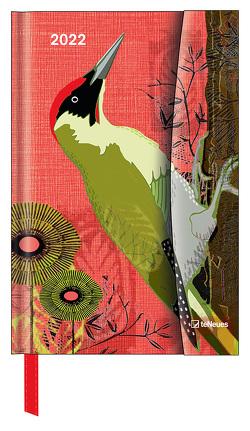 Birds 2022 – Diary – Buchkalender – Taschenkalender – 10×15 von White,  Jill