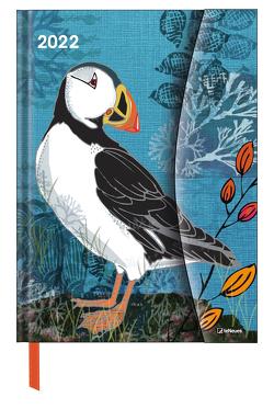 Birds 2022 – Diary – Buchkalender – Taschenkalender – 16×22 von White,  Jill