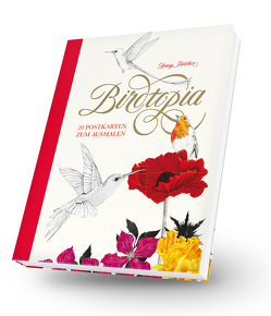 Birdtopia Postkartenbuch von Fletcher,  Daisy