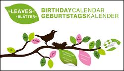 Blätter immerwährender Geburtagskalender von teNeues Calendars & Stationery, teNeues Calendars & Stationery GmbH & Co. KG