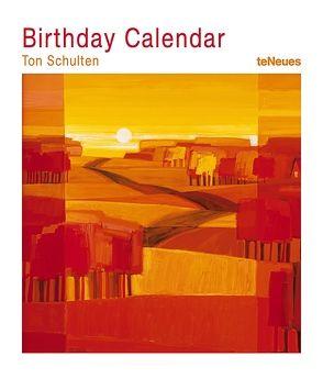 Ton Schulten Geburtstagskalender von teNeues Calendars & Stationery, Ton Schulten