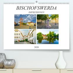 Bischofswerda Impressionen (Premium, hochwertiger DIN A2 Wandkalender 2020, Kunstdruck in Hochglanz) von Meutzner,  Dirk