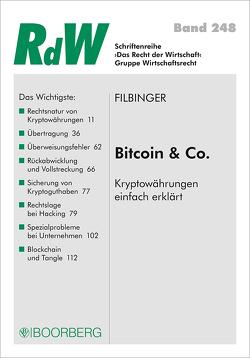 Bitcoin & Co von Filbinger,  Konstantin