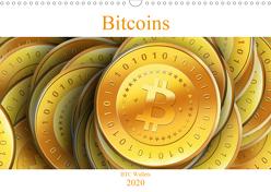 Bitcoins (Wandkalender 2020 DIN A3 quer) von Wallets,  BTC
