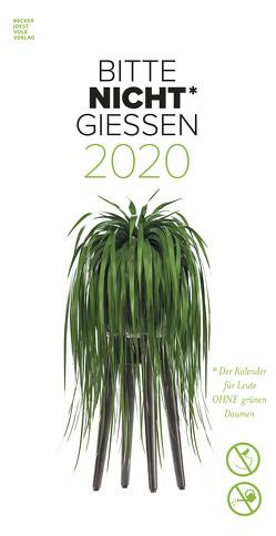 Bitte nicht giessen 2020 – Bildkalender (33 x 64) – Blumen – Pflanze – Ersatz für Zimmerpflanzen – Humor-Kalender – Wandkalender von ALPHA EDITION