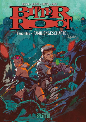 Bitter Root. Bd. 1 von Brown,  Chuck, Greene,  Sanford, Walker,  David F.