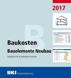 BKI Baukosten Bauelemente Neubau 2017