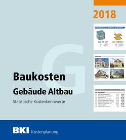 BKI Baukosten Gebäude Altbau 2018