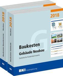 BKI Baukosten Gebäude + Bauelemente Neubau 2018 – Kombi Teil 1-2