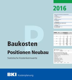 BKI Baukosten Neubau 2016 Teil 3