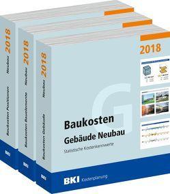 BKI Baukosten Neubau 2018 – Kombi Teil 1-3