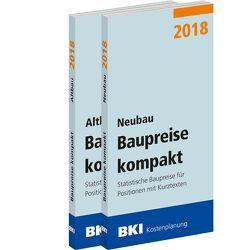 BKI Baupreise kompakt 2018 – Neubau + Altbau – Kombi
