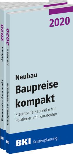 BKI Baupreise kompakt 2020 – Neubau + Altbau – Gesamtpaket