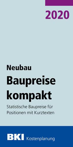 BKI Baupreise kompakt Neubau 2020