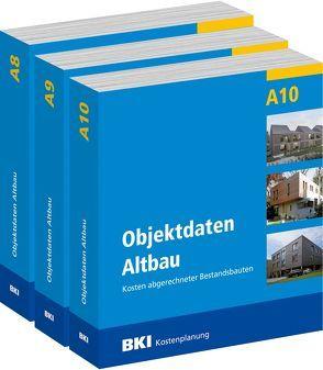 BKI Objektdaten Altbau A8 + A9 + A10 von BKI - Baukosteninformationszentrum Deutscher Architektenkammern