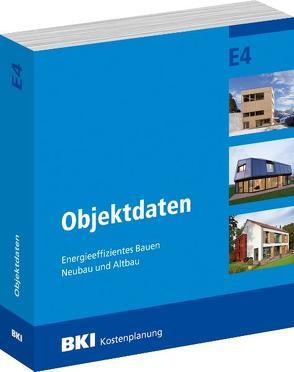 BKI Objektdaten E4 von BKI - Baukosteninformationszentrum Deutscher Architektenkammern