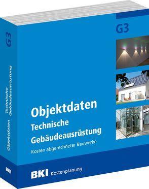 BKI Objektdaten G3 von BKI - Baukosteninformationszentrum Deutscher Architektenkammern