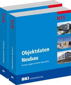 BKI Objektdaten Neubau N13 + N15 von BKI - Baukosteninformationszentrum Deutscher Architektenkammern
