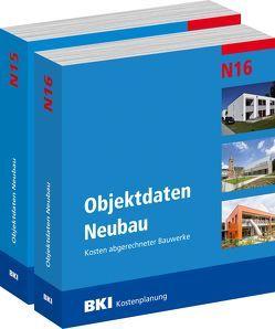 BKI Objektdaten Neubau N15 + N16 von BKI - Baukosteninformationszentrum Deutscher Architektenkammern