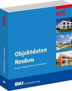 BKI Objektdaten Neubau N16 von BKI - Baukosteninformationszentrum Deutscher Architektenkammern,  BKI