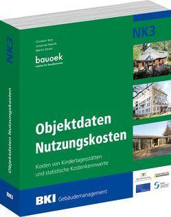 BKI Objektdaten Nutzungskosten NK3 von BKI - Baukosteninformationszentrum Deutscher Architektenkammern, Hawlik,  Johannes, Stoy,  Christian, Strack,  Martin