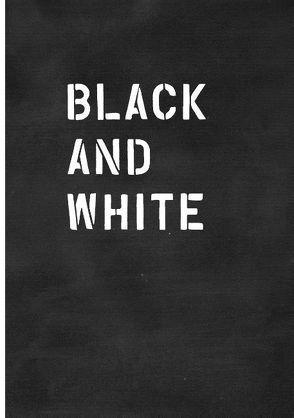 Black and White / Schwarz auf Weiß von Gömöri,  Enikö, Herrmann,  Norbert