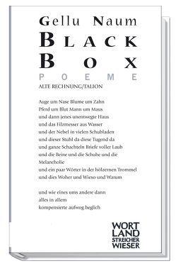 Black Box von Naum,  Gellu