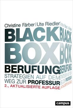 Black Box Berufung von Färber,  Christine, Riedler,  Ute