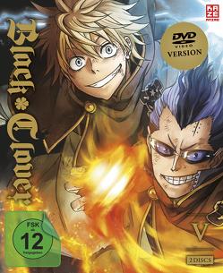 Black Clover – DVD 5 (Episoden 40-51) (2 DVDs) von Yoshihara,  Tatsuya