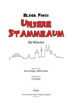 Bläck Fööss – Unsere Stammbaum von Grimm,  Jürgen