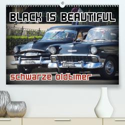 Black is Beautiful – Schwarze Oldtimer (Premium, hochwertiger DIN A2 Wandkalender 2020, Kunstdruck in Hochglanz) von von Loewis of Menar,  Henning