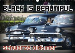 Black is Beautiful – Schwarze Oldtimer (Wandkalender 2019 DIN A3 quer) von von Loewis of Menar,  Henning