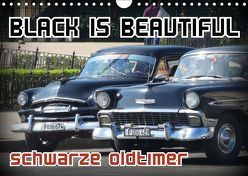 Black is Beautiful – Schwarze Oldtimer (Wandkalender 2019 DIN A4 quer) von von Loewis of Menar,  Henning