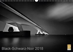 Black-Schwarz-Noir 2018 (Wandkalender 2018 DIN A3 quer) von Gottschalk,  Lichtformwerk/Arnd