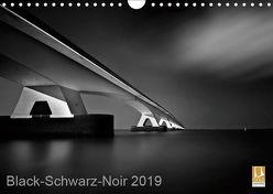 Black-Schwarz-Noir 2019 (Wandkalender 2019 DIN A4 quer) von Gottschalk,  Lichtformwerk/Arnd